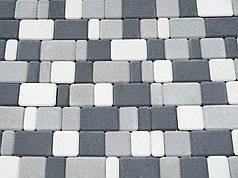 Тротуарная плитка «Старый город» 60/90/120/180х120 высота 40мм серая