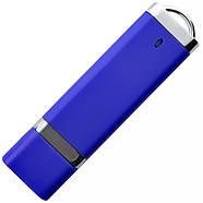 """Флешка 3.0 """"ТОР"""" пластикова синя під нанесення 16 Гб (0707-1-3.0-16-Гб), фото 3"""