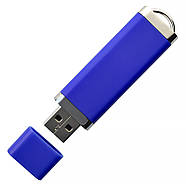 """Флешка 3.0 """"ТОР"""" пластикова синя під нанесення 16 Гб (0707-1-3.0-16-Гб), фото 4"""
