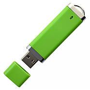 """Флешка """"ТОР"""" зеленая под логотип 16 Гб (0707-5-16-Гб), фото 4"""