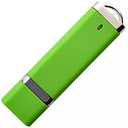 """Флешка 3.0 """"ТОР"""" пластиковая зеленая под нанесение 16 Гб (0707-5-3.0-16-Гб), фото 3"""