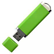 """Флешка 3.0 """"ТОР"""" пластиковая зеленая под нанесение 16 Гб (0707-5-3.0-16-Гб), фото 4"""