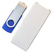 """Флешка """"Твистер"""" пластиковая под печать синяя 64 Гб (0801-1-64-Гб), фото 6"""