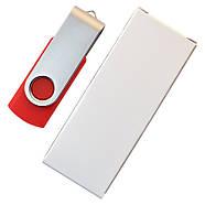 "Флешка ""Твистер"" 64МБ (Мегабайта) красная под гравировку (0801-2-64-Мб), фото 6"