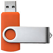 """Флешка """"Твистер"""" оранжевая под логотип 16 Гб (0801-6-16-Гб), фото 3"""