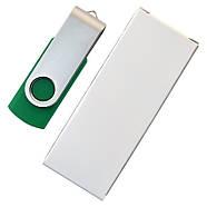 """Флешка """"Твистер"""" зеленая 4 Гб под нанесение (0801-7-4-Гб), фото 6"""