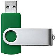 """Флешка """"Твистер"""" зеленая под логотип 16 Гб (0801-7-16-Гб), фото 3"""