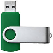"""Флешка """"Твистер"""" зеленая с нанесением лого 32 Гб (0801-7-32-Гб), фото 3"""