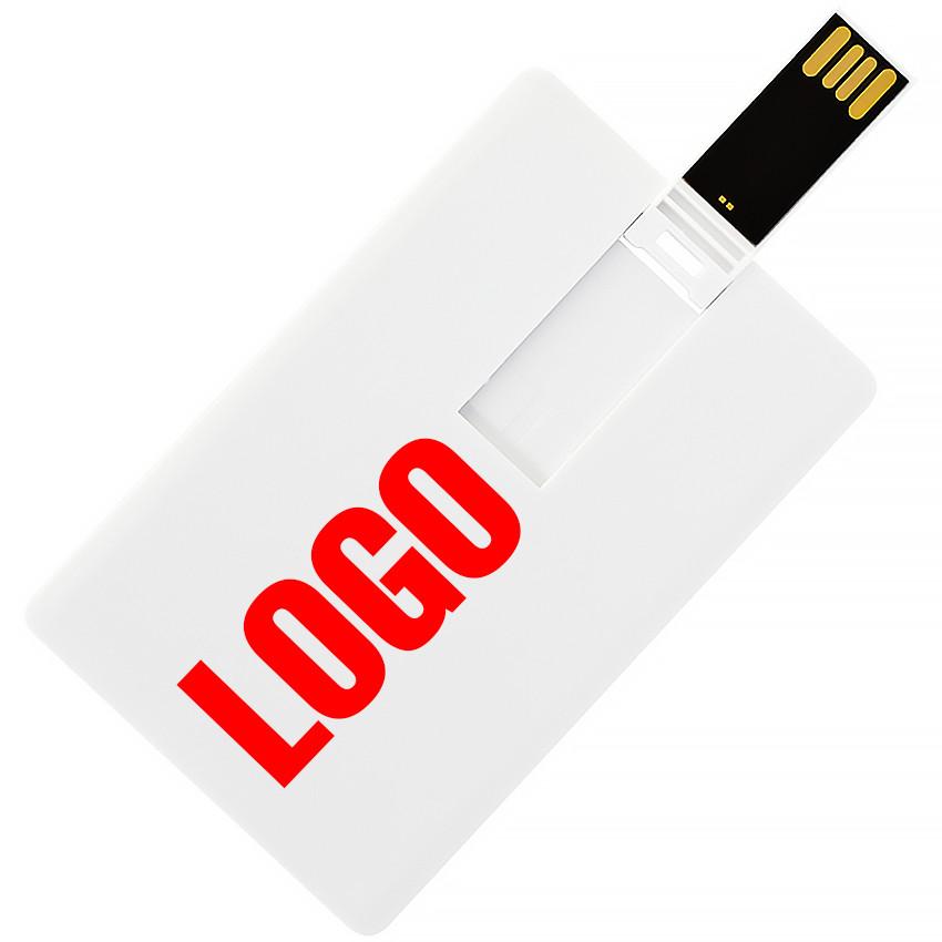 Флешка-карточка Кредитная под печать 4 Гб (1012-4-Гб)