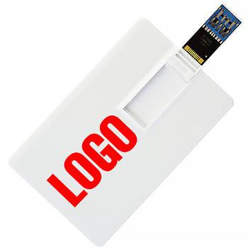 Флешка-карточка Кредитная 3.0 под печать 16 Гб (1012-3.0-16-Гб)