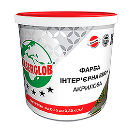 Фарба фасадна акрилова Anserglob Еко+ 7 кг