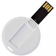 Флешка-карточка круглая под печать 4 Гб (1018-4-Гб), фото 2