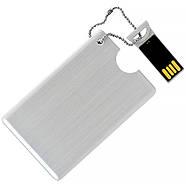 Флешка-карточка металлическая под нанесение 4 Гб (1029-4-Гб), фото 2