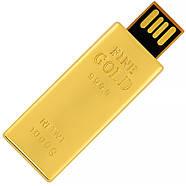 Флешка Золотой слиток Мини с гравировкой 32 Гб (0326-32-Гб), фото 2