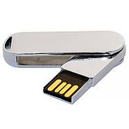 Флешка металлическая глянец под нанесение 4 Гб (0493-4-Гб), фото 2