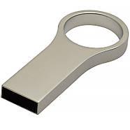 Флешка с логотипом металл матовый серебро 16 Гб (0495-1-16-Гб), фото 3