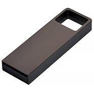 Флешка металл темно-серая под логотип 32 Гб (0496-2-32-Гб), фото 2