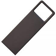 Флешка металл темно-серая под логотип 32 Гб (0496-2-32-Гб), фото 3