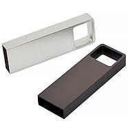Флешка металл темно-серая под логотип 32 Гб (0496-2-32-Гб), фото 5