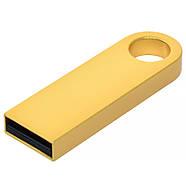 Флешка металлическая золото под нанесение 4 Гб (0497-3-4-Гб), фото 2