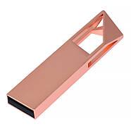Флешка металлическая медь логотип 32 Гб (0498-4-32-Гб), фото 2