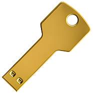 Флешка Золотой ключ под нанесение 4 Гб (0457-1-4-Гб), фото 3