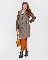 """Женское пальто """"гусиная лапка""""   рр 42,44"""