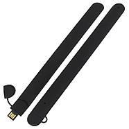 Флешка-браслет под логотип черная 64 Гб (0993-2-64-Гб), фото 3