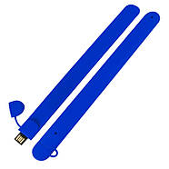 Флешка браслет под логотип синяя 16 Гб (0993-3-16-Гб), фото 3