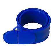 Флешка браслет под логотип синяя 16 Гб (0993-3-16-Гб), фото 4
