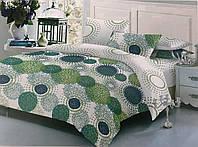 Комплект постельного белья ТЕП Sofia бязь 215-180 см зеленый