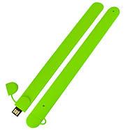 Флешка-браслет под логотип зеленая 16 Гб (0993-5-16-Гб), фото 3