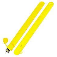 Флешка в виде браслета для шелкотрафарета желтая 32 Гб (0993-7-32-Гб), фото 3