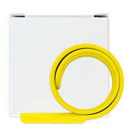 Флешка в виде браслета для шелкотрафарета желтая 32 Гб (0993-7-32-Гб), фото 5