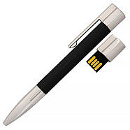 Флешка-ручка Neo черная под уф-печать 32 Гб (1133-2-32-Гб), фото 2