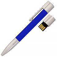 Флешка-ручка Neo синяя для нанесения лого 4 Гб (1133-3-4-Гб), фото 2