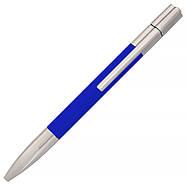 Флешка-ручка Neo синяя для нанесения лого 4 Гб (1133-3-4-Гб), фото 4