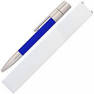 Флешка-ручка Neo синяя для нанесения лого 4 Гб (1133-3-4-Гб), фото 6