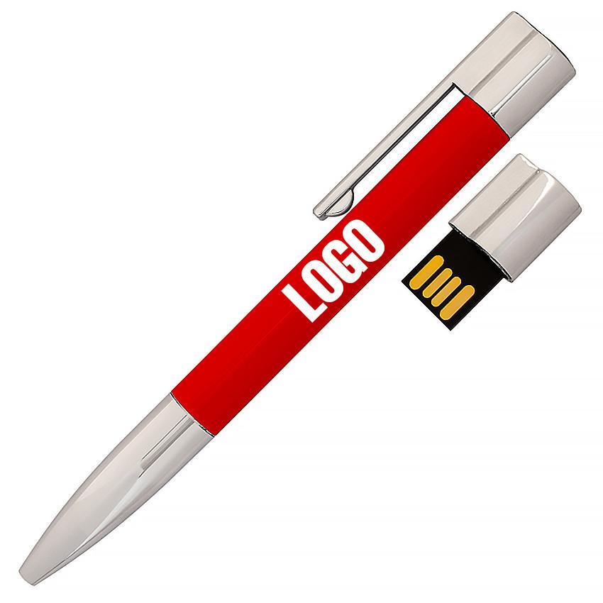 Флешка-ручка Neo красная под уф-печать 32 Гб (1133-4-32-Гб)