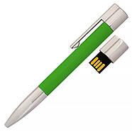 Флешка-ручка Neo зеленая для нанесения лого 4 Гб (1133-5-4-Гб), фото 2