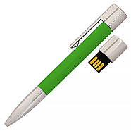 Флешка-ручка Neo зеленая под печать логотипа 64 Гб (1133-5-64-Гб), фото 2