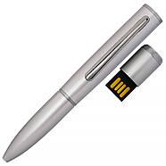 Флешка ручка Modern серебро с гравировкой 32 Гб (1134-1-32-Гб), фото 2