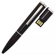 Флешка ручка Modern черная под гравировку 64 Гб (1134-2-64-Гб), фото 2