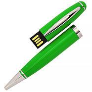 Флешка-ручка Classic зеленая для нанесения лого 4 Гб (1122-5-4-Гб), фото 2