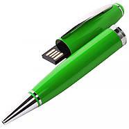 Флешка-ручка Classic зеленая для нанесения лого 4 Гб (1122-5-4-Гб), фото 5