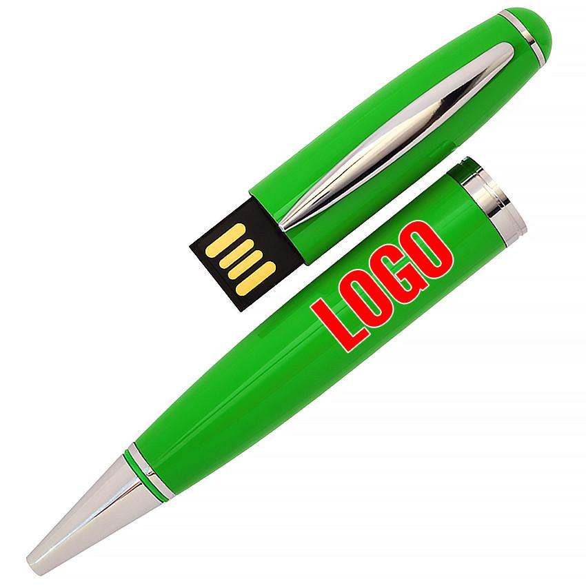 Флешка-ручка Classic зеленая под уф-печать 64 Гб (1122-5-64-Гб)