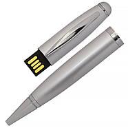 Флешка-ручка Classic серебро для нанесения лого 4 Гб (1122-6-4-Гб), фото 2
