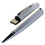 Флешка-ручка Classic серебро под логотип 16 Гб (1122-6-16-Гб), фото 5