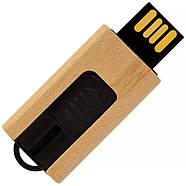 Флешка деревянная мини для печати логотипа 32 Гб (0252-32-Гб), фото 2