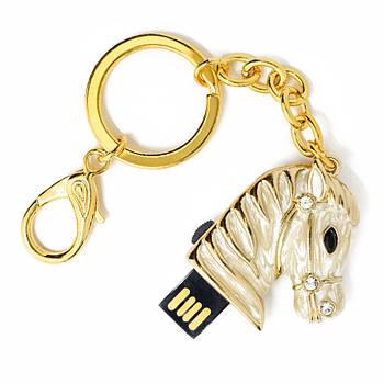 "Флешка ""USB Конь"" белый 16Гб (03164B-16-Гб)"